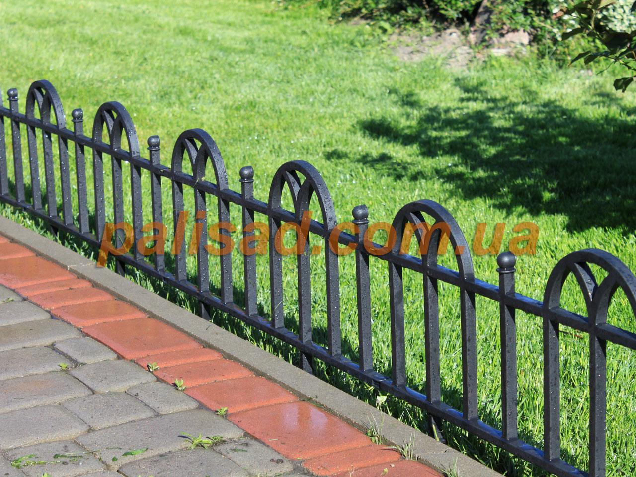 Заборчики для клумб и цветников своими руками фото из металла